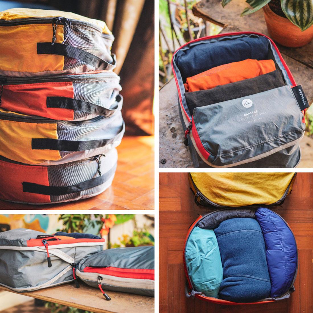 compartiment compression textile nordkamm / quechua tour du monde