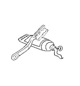 dessin dentifrice