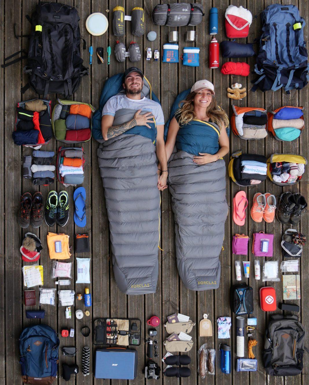 Equipement tour du monde backpacker
