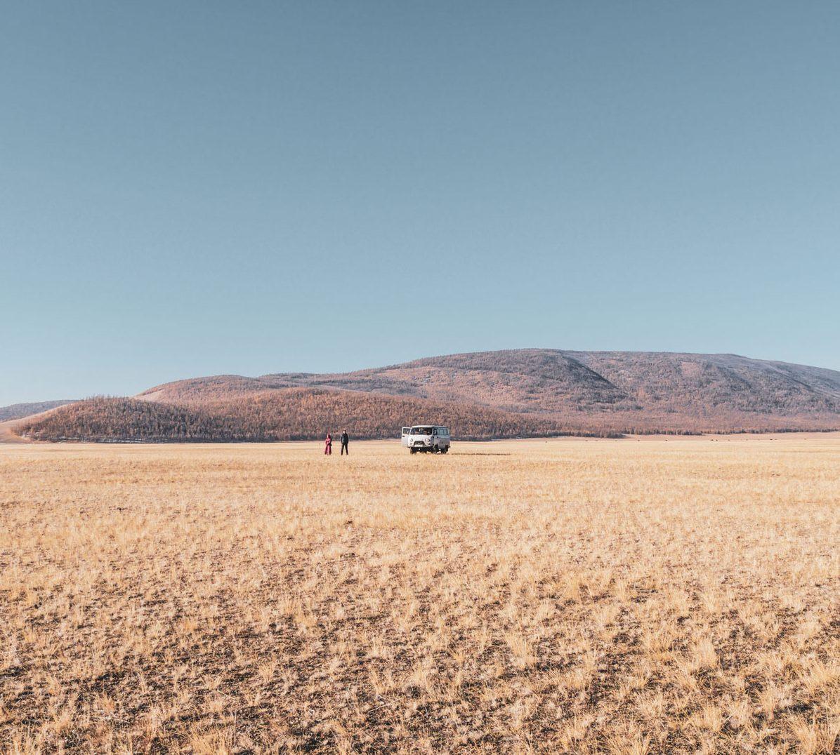 Perdus dans les plaines de Mongolie