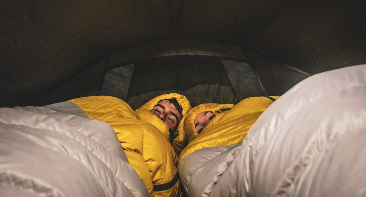nuit en tente grande muraille de chine