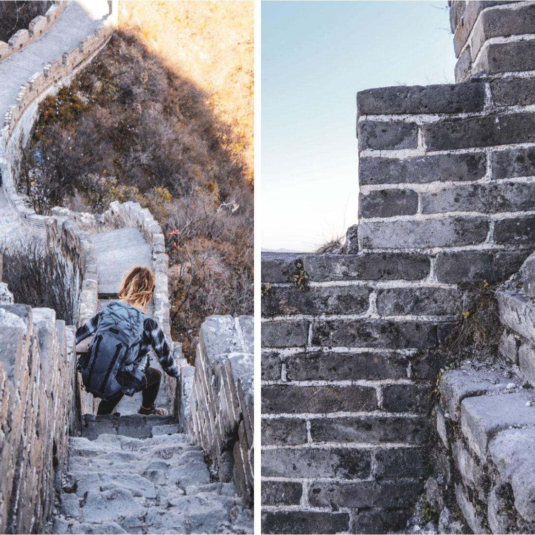 Descente des escaliers du ciel