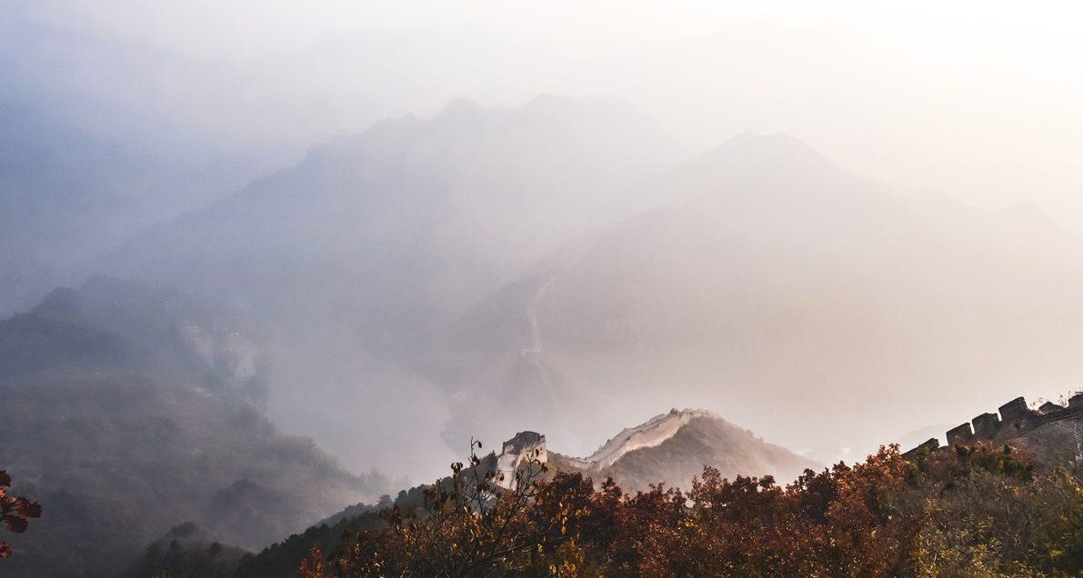 Paysage Chine au matin