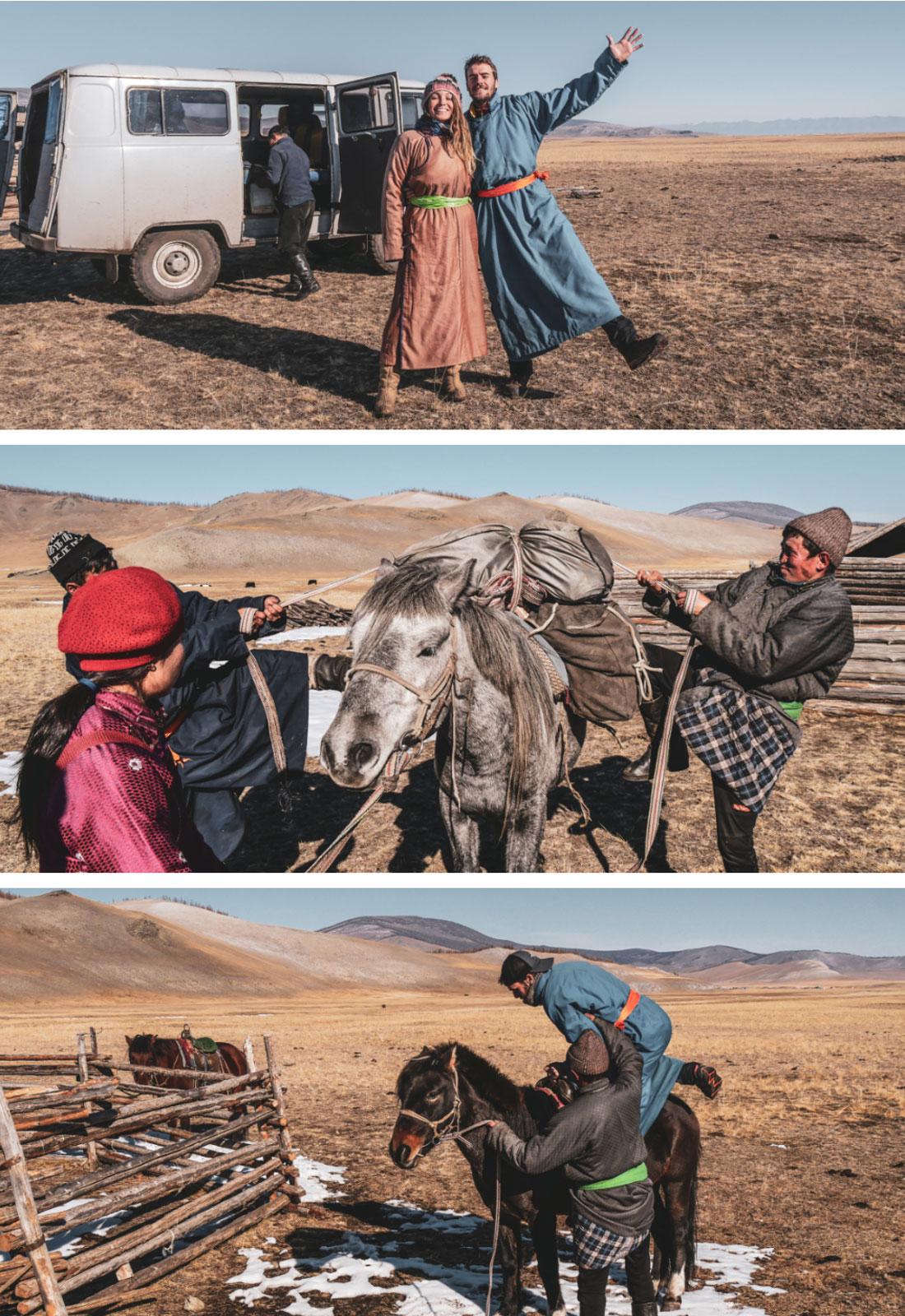Prêt pour monter à cheval