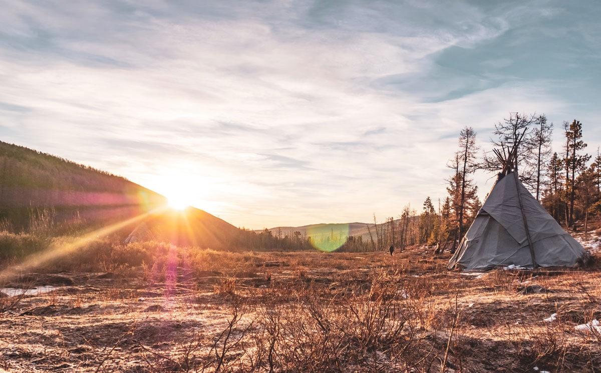 levé de soleil mongolie