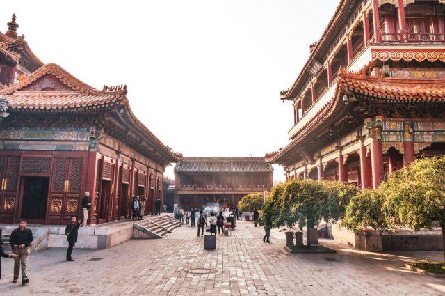 temple à Pékin