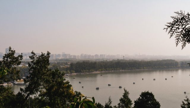 pollution sur Pékin