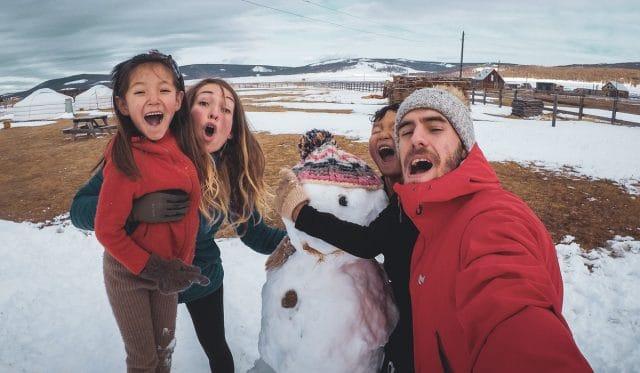 enfant volontariat mongolie