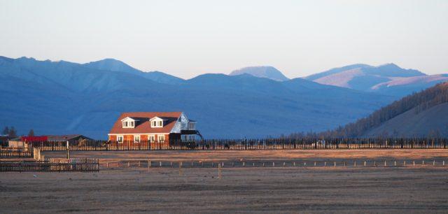 couché de soleil mongolie