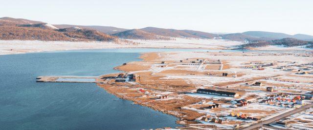 village mongole