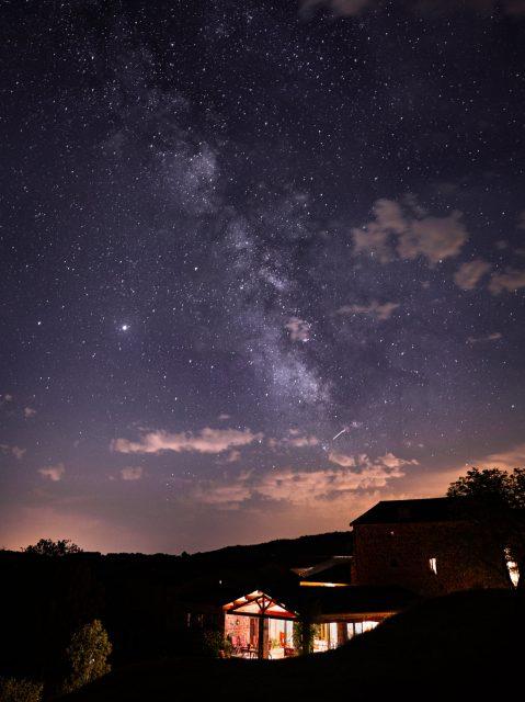 nuit étoile chez nathalie
