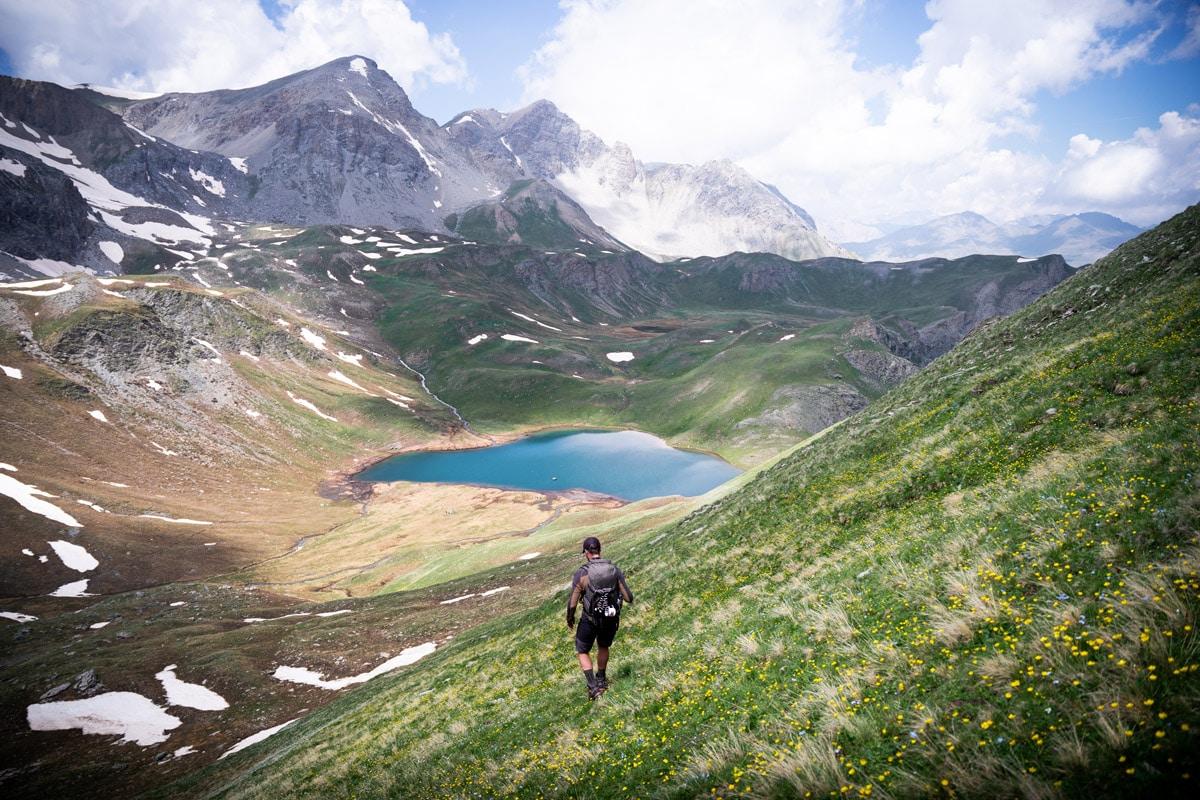 randonnée lac des Cordes