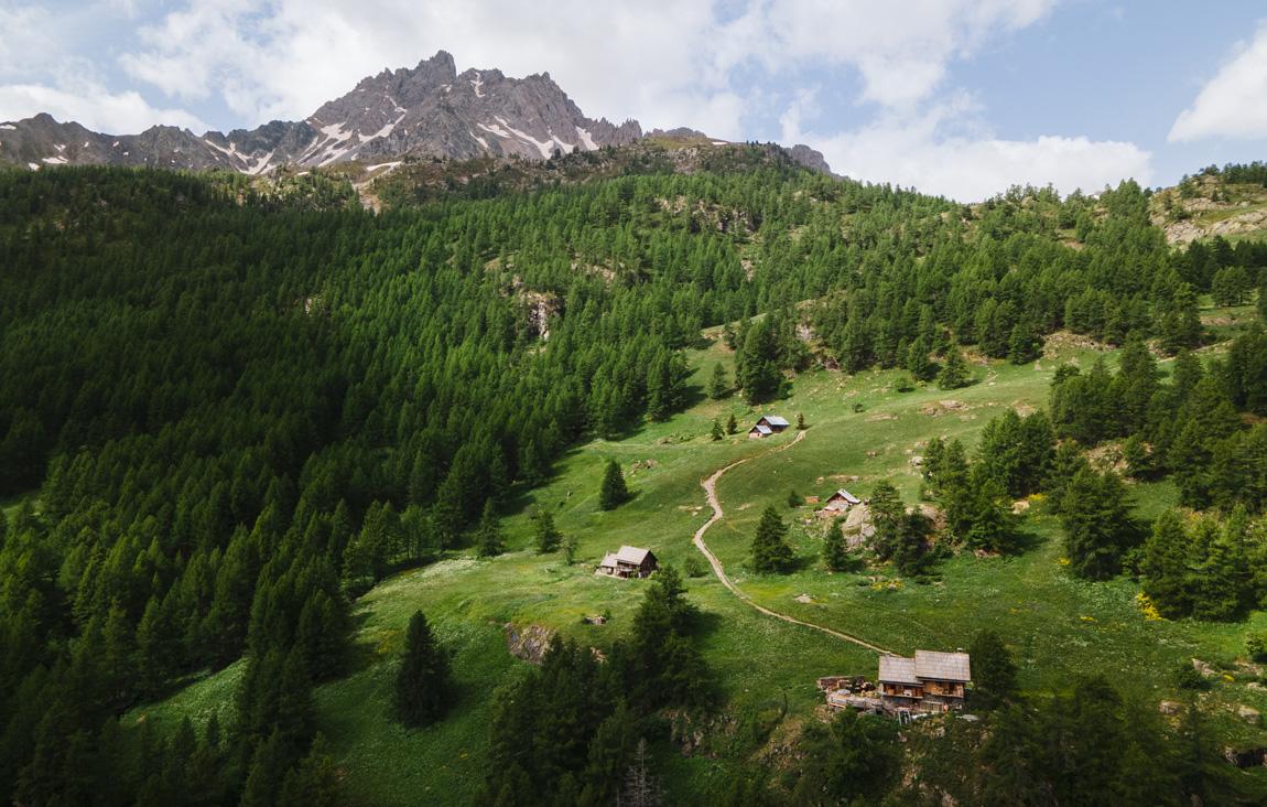 Clarée Névache Hautes Alpes
