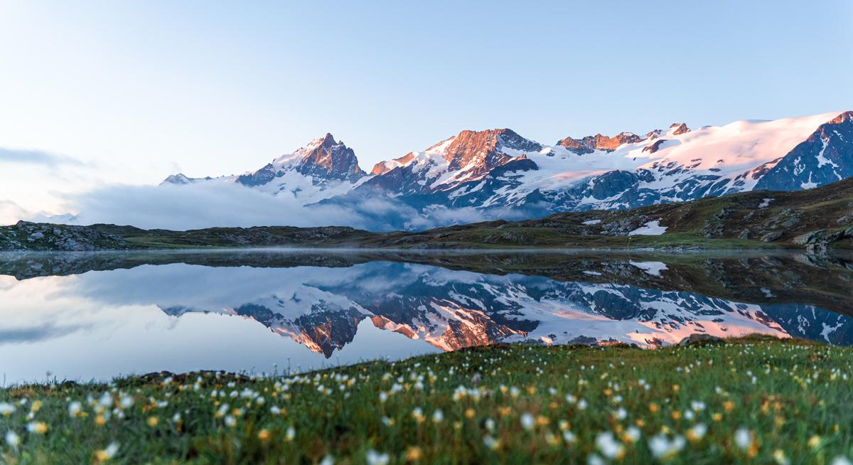 Rando bivouac emparis lac lérié lac noir