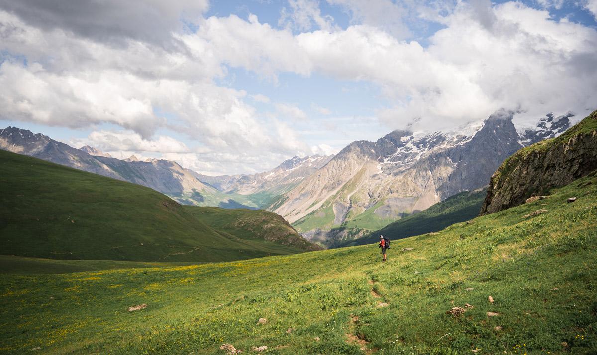 randonnée sur le plateau d'Emparis